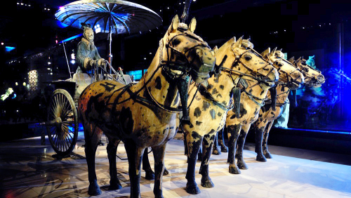 Terracotta Warriors Army & Horses Day Tour