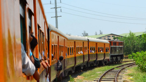 Private Yangon Circular Railway Day Tour by Threeland Travel
