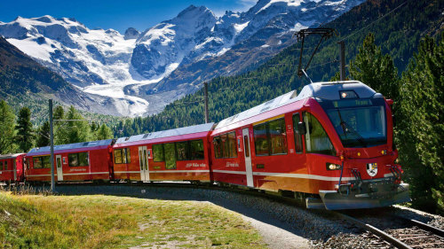 Bernina Express Rail Tour to St Moritz by Zani Viaggi