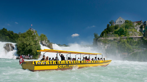 Getaway to Rhine Falls by Best of Switzerland Tours