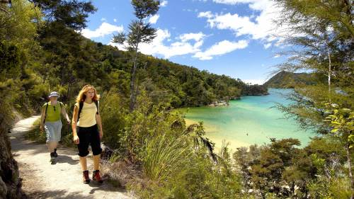 Abel Tasman Anchorage Sailing & Walking Trip