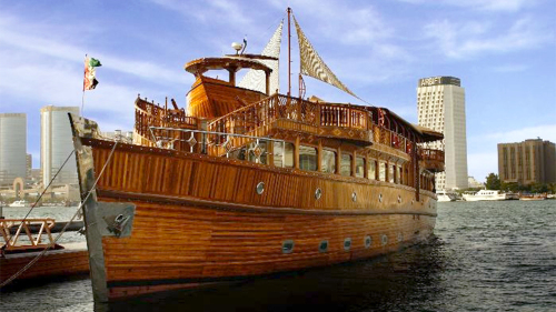 Dhow Dinner Cruise with Private Transfers