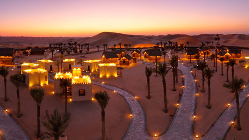 4x4 Desert Safari & Dinner in a Deluxe Resort Camp by Gray Line