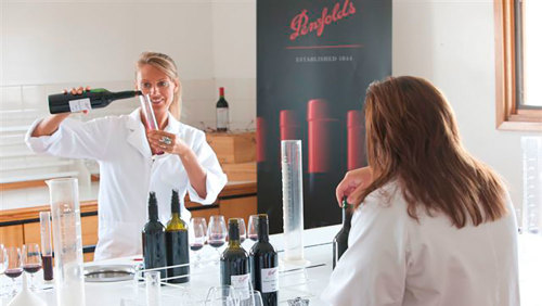Make Your Own Blend Wine Experience At Penfold