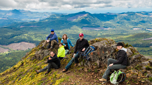 Full-Day Saddle Mountain Hiking Tour with Lunch