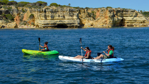 Algarve Coast & Caves Small-Group Kayak Excursion