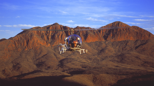Helicopter Tour over Australian Outback