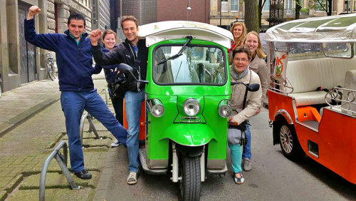Tuk Tuk Sightseeing Tour & Cheese Tasting with Drinks
