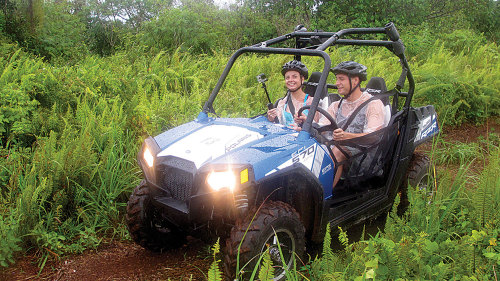 Off-Road Adventure Side by Side Tour by Marianas Trekking: Guam Tours