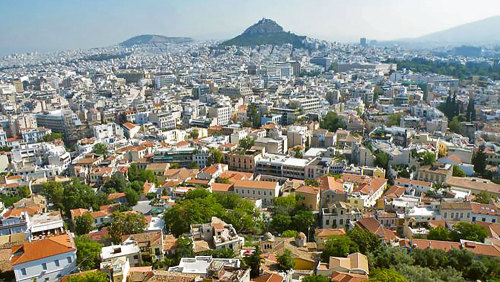 Hiking the Ancient Hills of Athens Walking Tour
