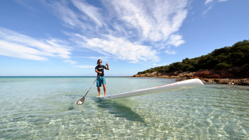 Standup Paddleboarding Experience at the Blue Lagoon