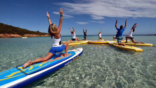 Standup Paddleboarding & Yoga Experience