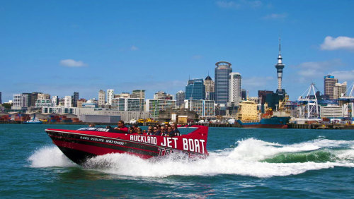 Jet Boat Ride & Voyager New Zealand Maritime Museum Admission