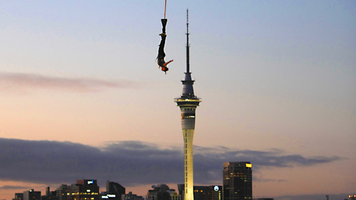 Auckland Harbour Bridge Climb & Bungee Combo by AJ Hackett Bungy