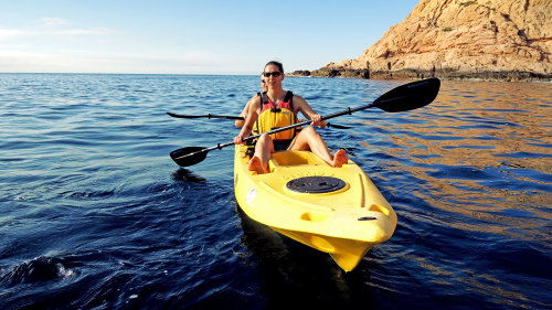 Glass-Bottom Kayak & Snorkeling at 2 Bays