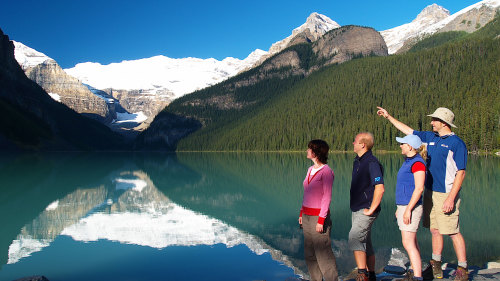 Lake Louise & Moraine Lake Tour