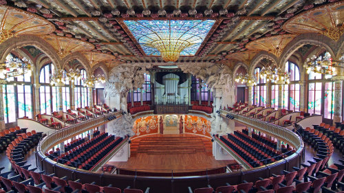 Skip-the-Line: Palace of Catalan Music Tour