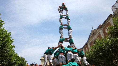 Small-Group Vineyards & Human Tower Experience by Living It