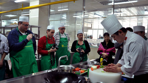 Chinese Cooking Class Session with Market Tour