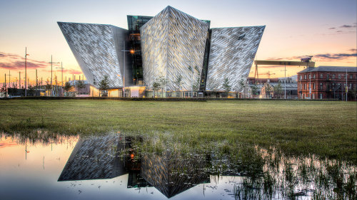 Titanic Quarter & Belfast City Day Trip by Railtours Ireland First Class