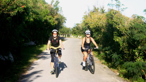 Bermuda Railway by Bike