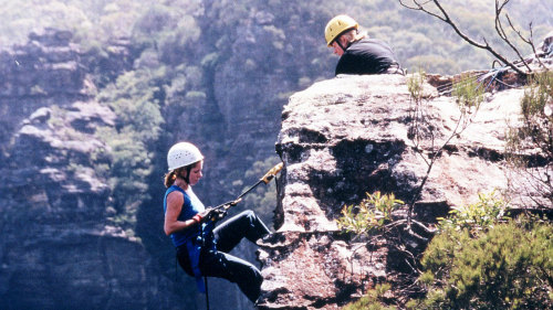 Abseiling & Rock-Climbing Combo by High n Wild