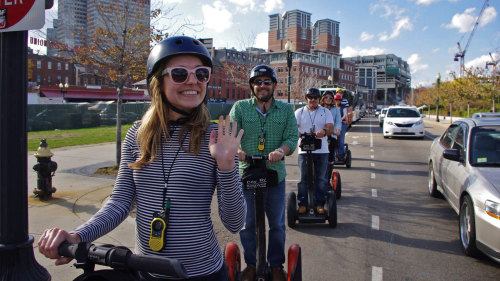 Freedom Trail & Harbor Segway Tour