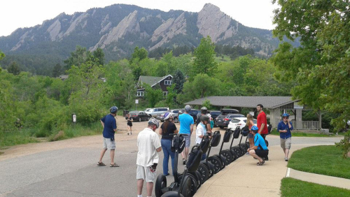 Rolling through Boulder: Historic Districts Segway Tour