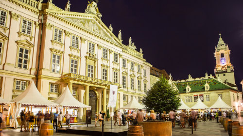 Bratislava by Night Walking Tour