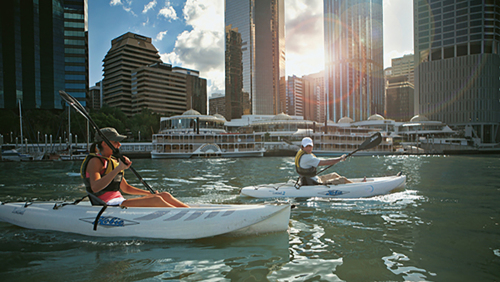 City Night Paddle & Dining Tour by Riverlife