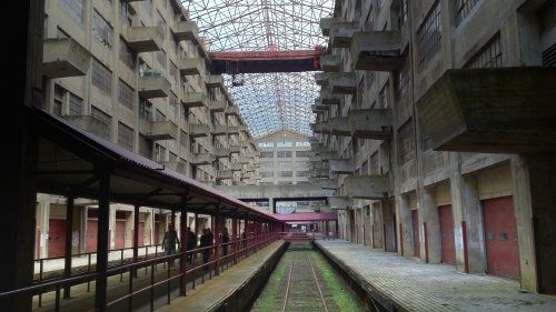 Brooklyn Army Terminal Tour