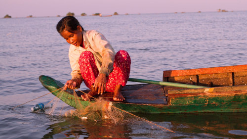 Private Tonlé Sap Lake Cruise by Threeland Travel