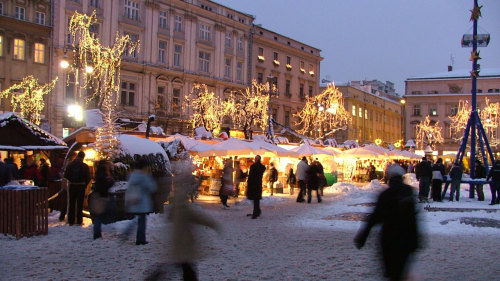 Christmas Market Tour with Wine Tasting