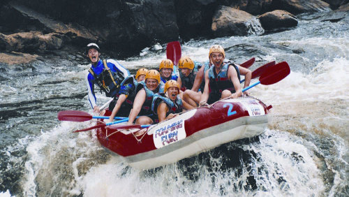Barron Gorge River Rafting Adventure by Foaming Fury
