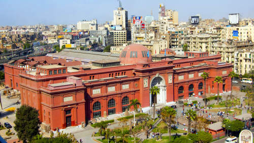 Egyptian Museum & Khan el-Khalili Private Half-Day Tour