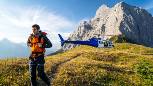 Helicopter Hiking Adventure