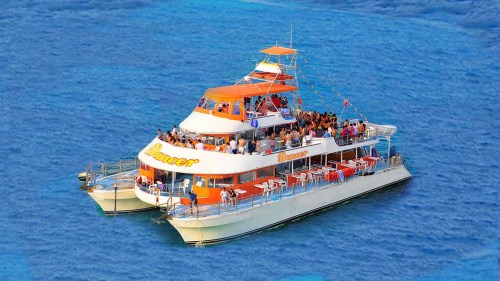 Dancer Catamaran: Cancun Bay Cruise