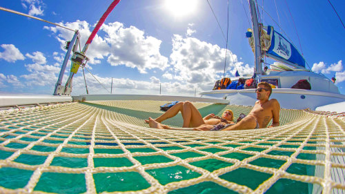 Luxury Catamaran Sailing & Snorkeling