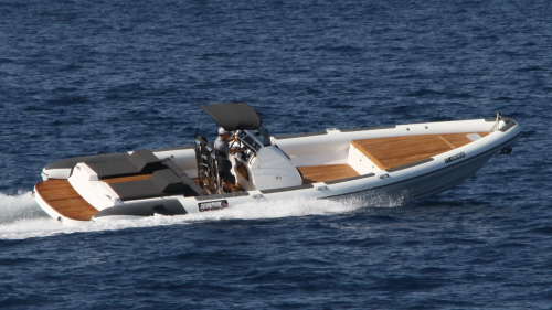 Private Delos & Rhenia Cruise in a Luxurious RIB Boat