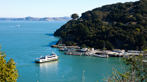 Shared Ferry: San Francisco to Angel Island by Blue & Gold Fleet