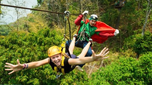 Treetop Eco-Adventure with Lunch by Tour East Thailand