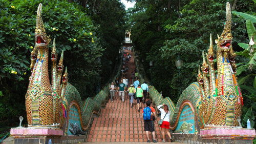 Half-Day Excursion to Wat Doi Suthep & Hmong Hill-Tribe Village