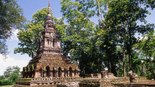 Golden Triangle, Ancient City & Temple Tour with Cruise