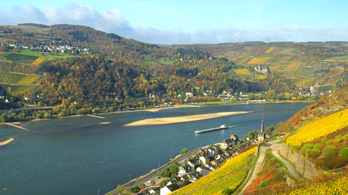Frankfurt & Rhine Valley Tour with River Cruise, Winetasting & Dinner