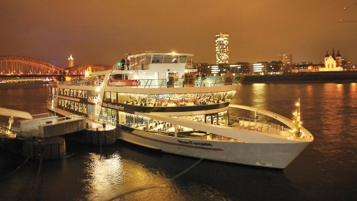 Dinner Cruise with All-You-Can-Eat Buffet & Open Bar