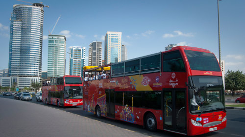 Sharjah Hop-On Hop-Off Bus Tour by City Sightseeing