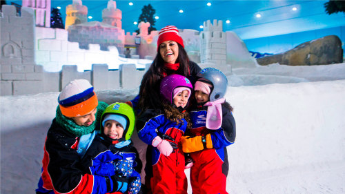 Ski Dubai Snow Park Admission Tickets