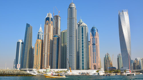 Palm Jumeirah, Burj Al Arab & Marina Cruise with The Yellow Boats