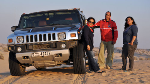 Half-Day Desert Safari by Hummer H2
