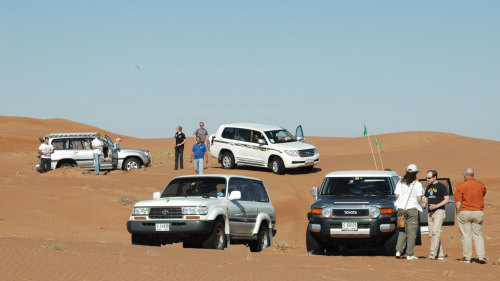 4x4 Desert Adventure with Barbecue Dinner & ATV Experience